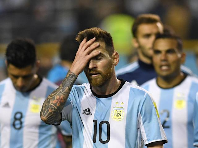 Argentina stumble against Peru meaning the impossible may actually happen - Lionel Messi really could miss World Cup
