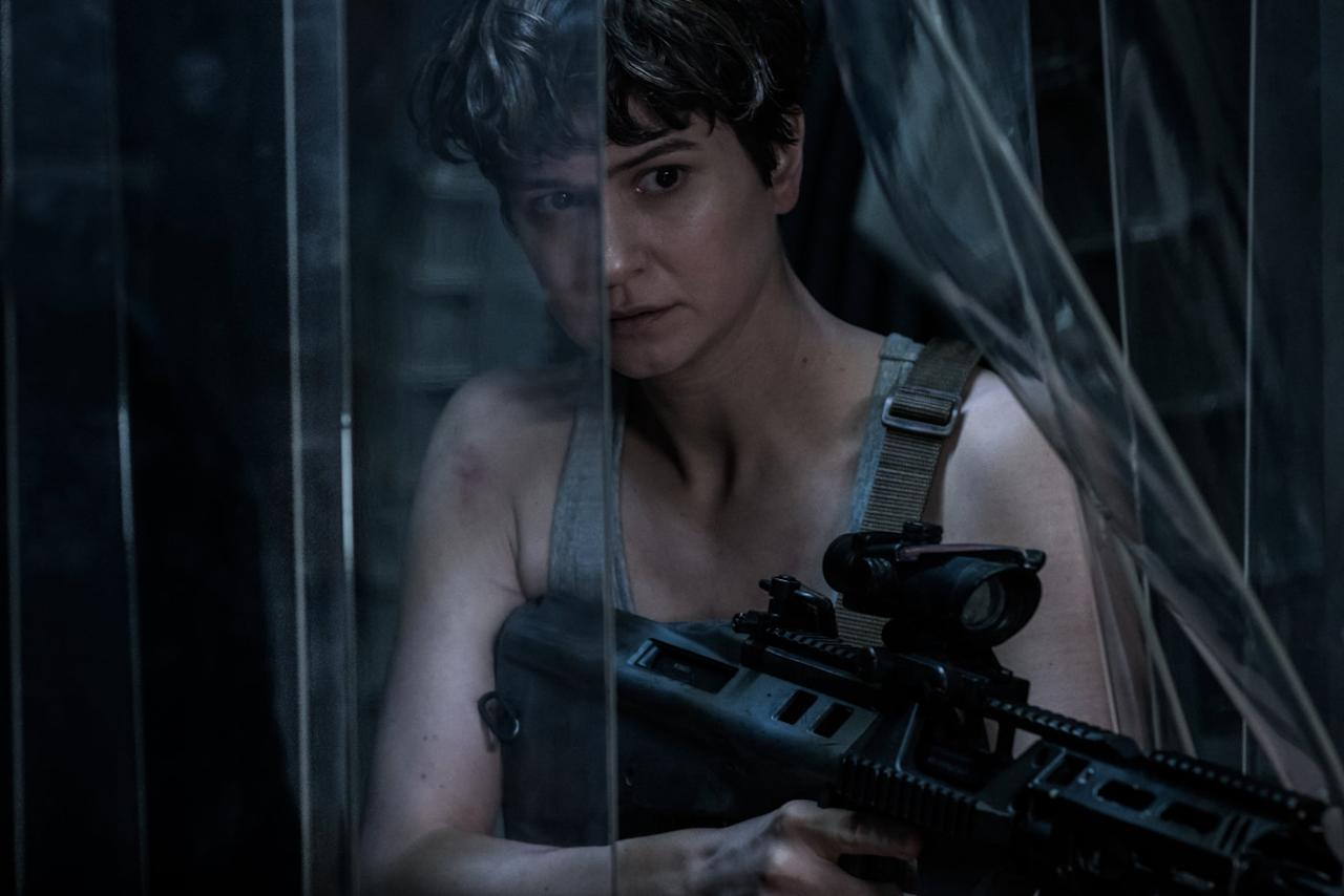 <p>Claustrophobic space horror as Ridley Scott returns to the legendary 'Alien' universe with his hotly-anticipated sequel to 'Prometheus.' (Credit: 20th Century Fox) </p>