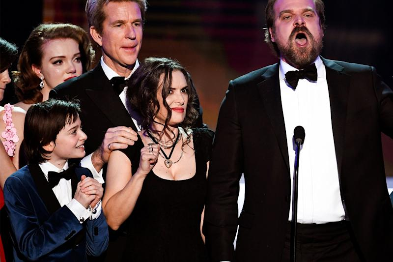 Winona Ryder Has a Special Name for Her SAG Award Facial Expressions