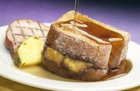 "<p>Tonga Toast is one of Disney's most iconic breakfasts, and can typically be found at Disney's Polynesian Village Resort. The combination of sweet cinnamon sugar, bananas, and crispy fried bread is one we can't ever pass up.</p> <p><strong>Get the recipe:</strong> <a href=""http://disneyparks.disney.go.com/blog/2020/05/disneymagicmoments-tonga-toast-at-disneys-polynesian-village-resort-the-ultimate-mothers-day-breakfast-treat/"" class=""link rapid-noclick-resp"" rel=""nofollow noopener"" target=""_blank"" data-ylk=""slk:Disney's Tonga Toast"">Disney's Tonga Toast</a></p>"