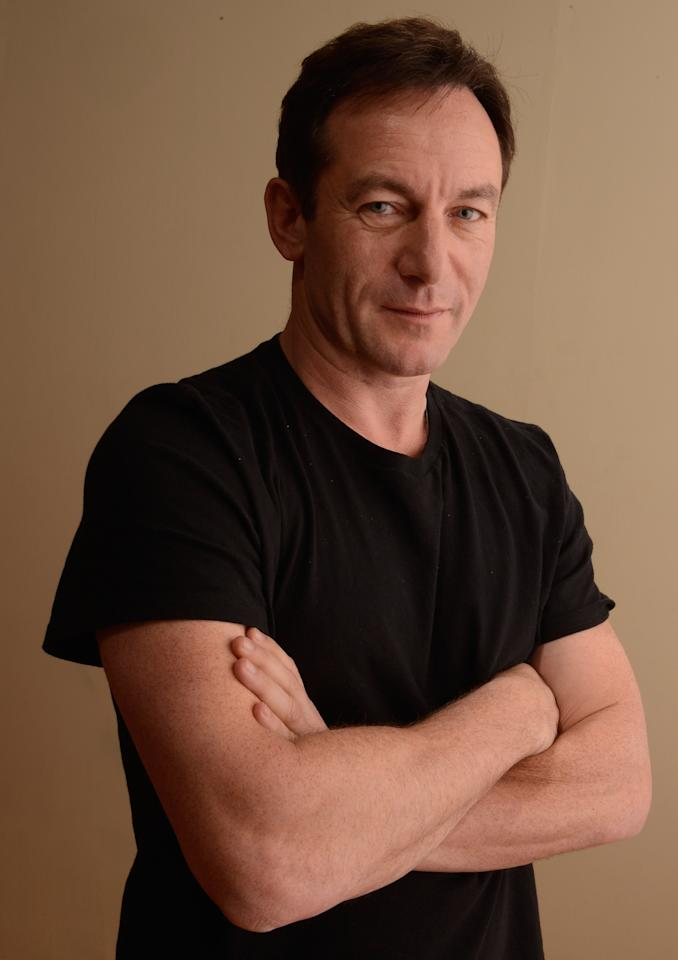 PARK CITY, UT - JANUARY 22:  Actor Jason Isaacs poses for a portrait during the 2013 Sundance Film Festival at the Getty Images Portrait Studio at Village at the Lift on January 22, 2013 in Park City, Utah.  (Photo by Larry Busacca/Getty Images)