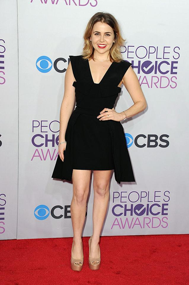 Mae Whitman attends the 2013 People's Choice Awards at Nokia Theatre L.A. Live on January 9, 2013 in Los Angeles, California.