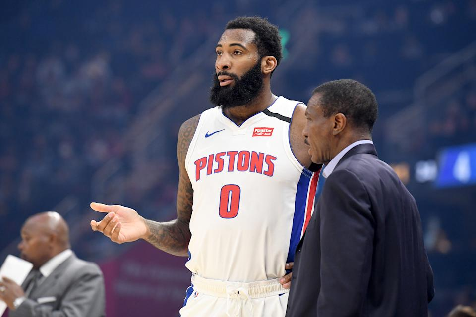 Andre Drummond is gone, and now Dwane Casey is coaching an starless roster. (Jason Miller/Getty Images)