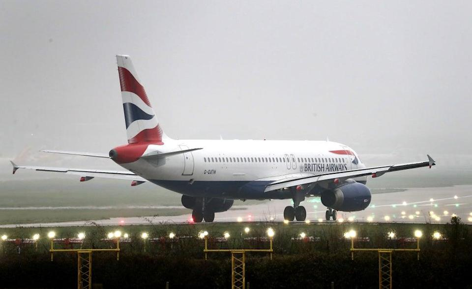 British Airways is insisting its planned new subsidiary for short-haul flights at Gatwick will feature 'the same full standard of service' currently provided to passengers (Gareth Fuller/PA) (PA Archive)
