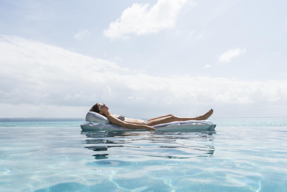 Swimming pools look serene but could be hiding a whole host of nasties [Photo: Getty]