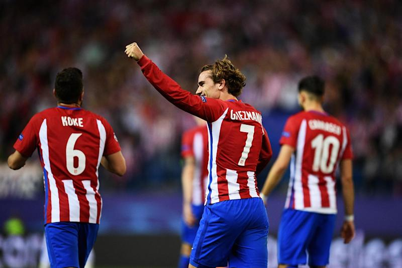 Winner | Antoine Griezmann scored a penalty to hand Atletico Madrid a first-leg victory: David Ramos/Getty Images