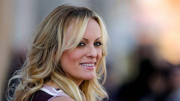 PHOTO: In this Oct. 11, 2018, file photo, adult film actress Stormy Daniels attends the opening of the adult entertainment fair 'Venus' in Berlin, Germany. (AP Photo/Markus Schreiber, File)