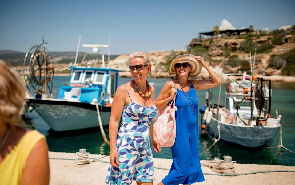 British holidaymakers on the island have until 4am on Sunday to return home or face a two-week quarantine - Getty