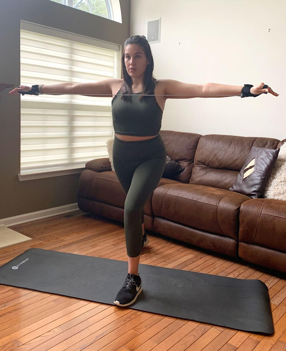 If you want a workout that will define your muscles and shape your curves, without forcing you to sweat profusely, P.volve might be for you. (Photo: Wesley Gonzalez)