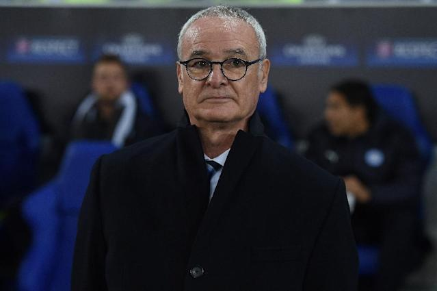 """Leicester City's manager Claudio Ranieri says a spot in the Champions League final 16 is """"another fairytale"""" (AFP Photo/Paul Ellis)"""