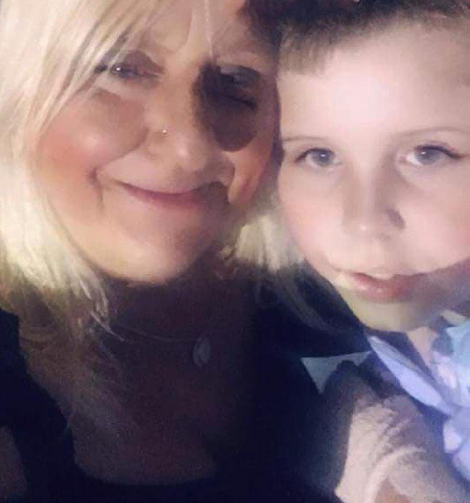 Emmitt and his mother, Karen, were said to be left traumatised by the incident at Woolworths Emu Plains in Sydney.