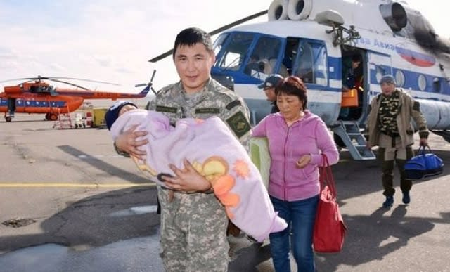 Toddler survives three days in Siberian forest