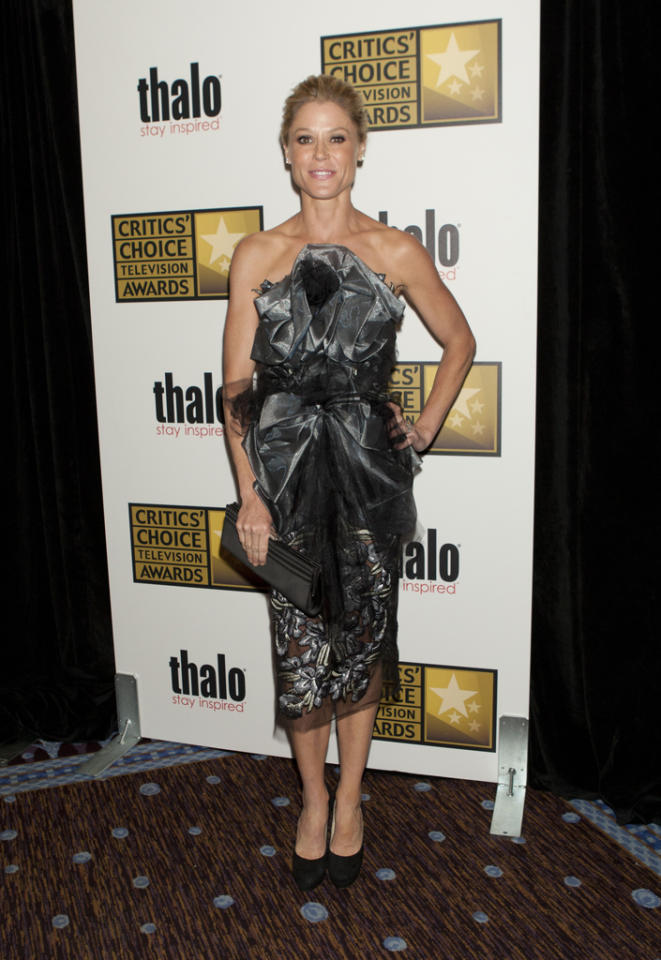 Julie Bowen attends the 2012 Critics' Choice Television Awards at The Beverly Hilton Hotel on June 18, 2012 in Beverly Hills, California.
