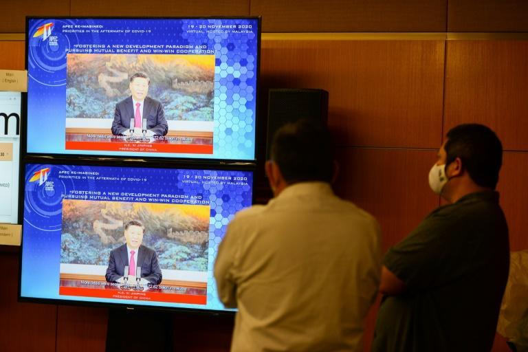 Donald Trump will follow China's Xi Jinping in delivering a speech to the virtual APEC summit