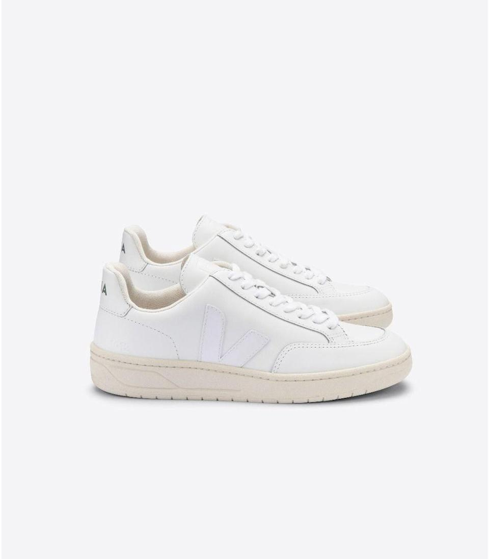 """<p><strong>Veja</strong></p><p>ShopBAZAAR.com</p><p><strong>$150.00</strong></p><p><a href=""""https://go.redirectingat.com?id=74968X1596630&url=https%3A%2F%2Fshop.harpersbazaar.com%2Fdesigners%2Fveja%2Fv-12-sneaker-extra-white-61091.html&sref=https%3A%2F%2Fwww.harpersbazaar.com%2Ffashion%2Fg31944159%2Fmothers-day-gifts-from-daughters%2F"""" rel=""""nofollow noopener"""" target=""""_blank"""" data-ylk=""""slk:Shop Now"""" class=""""link rapid-noclick-resp"""">Shop Now</a></p><p>If your mom is constantly running several errands, then gifting her comfortable shoes will allow her to move about the day with ease. We love these Veja sneakers because of how easily they pair with any look.</p>"""