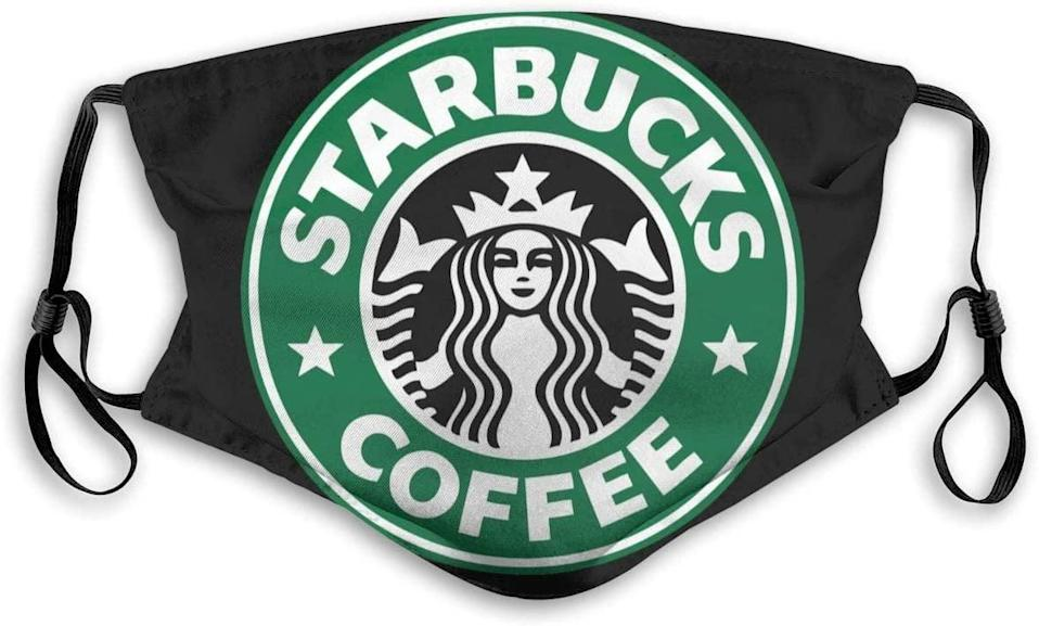 <p>Stay protected and safe while showcasing your love for Starbucks with this <span>1314 Star-Bucks Men and Women Adjustable Protective Face Mask</span> ($10).</p>