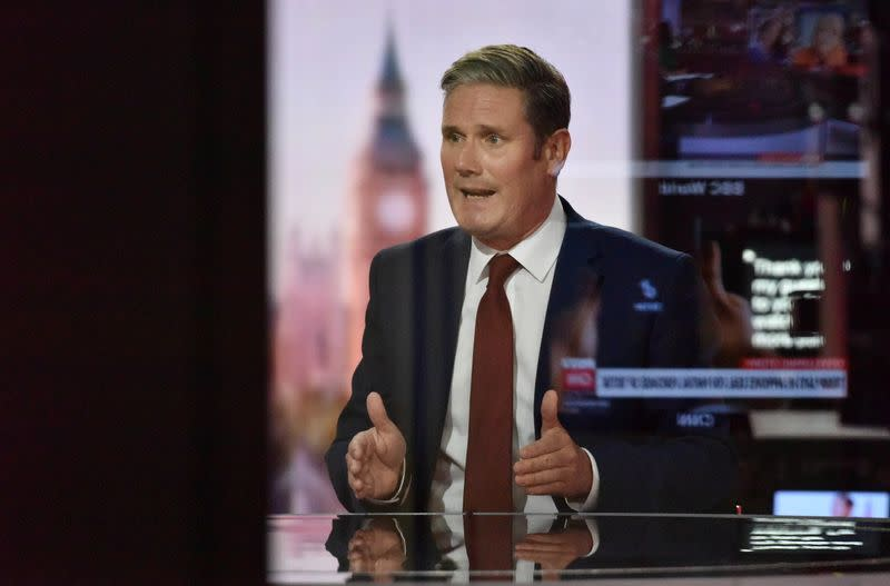 Starmer urges government not to end job furlough scheme