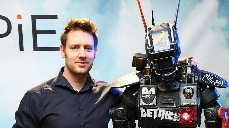 Neill Blomkamp and his friend Chappie
