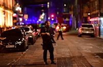 """<p>The Metropolitan Police tweeted: """"At 0025hrs 4/6/17 the incidents at #LondonBridge & #BoroughMarket were declared as terrorist incidents."""" (Picture: Press Association) </p>"""