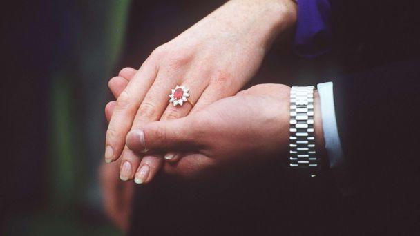 PHOTO: Duchess of York's diamond and ruby engagement ring. (Tim Graham/Getty Images)