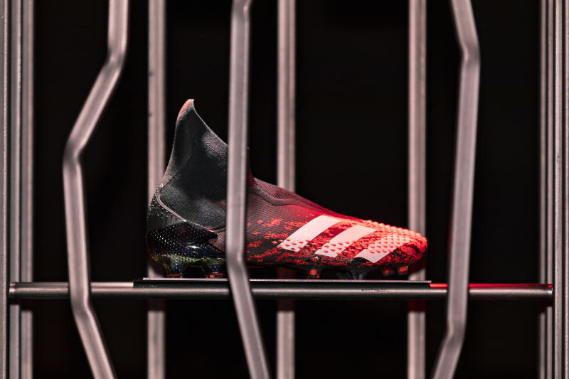 The new adidas Predator 20 Mutator with DEMONSKIN. (Photo credit: adidas).