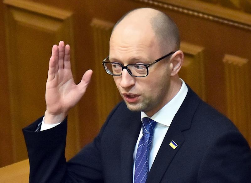 Ukrainian Prime Minister Arseniy Yatsenyuk faces charges he has been unable to deliver on a pledge to tackle corruption and fix the economy