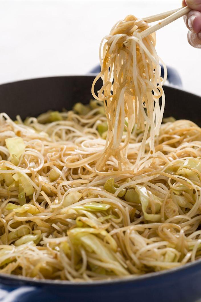"<p>You know you always make a run for it at the mall. Now recreate it at home—without all the added oil.</p><p>Get the recipe from <a href=""https://www.delish.com/cooking/recipe-ideas/recipes/a45478/panda-express-chow-mein-recipe/"" rel=""nofollow noopener"" target=""_blank"" data-ylk=""slk:Delish"" class=""link rapid-noclick-resp"">Delish</a>.</p>"