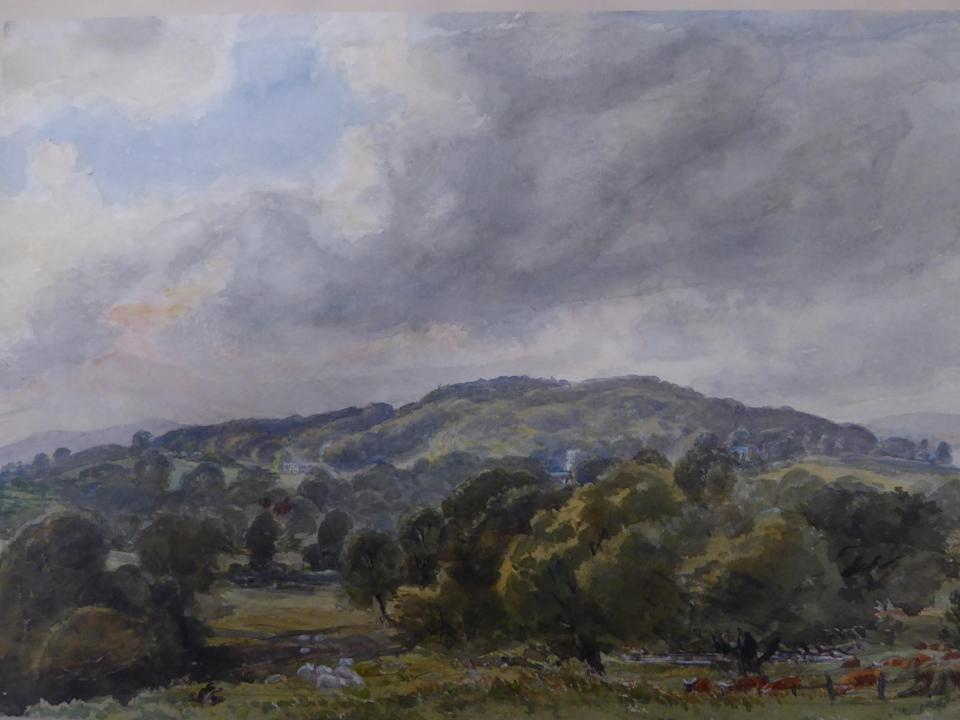 The project has been inspired by the watercolourr of the estate by Sir Thomas Acland (Fi Hailstone/National Trust/PA).