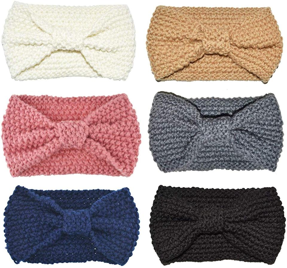 <p>These <span>Dreshow Bow Headbands</span> ($10, set of six) are a great deal.</p>
