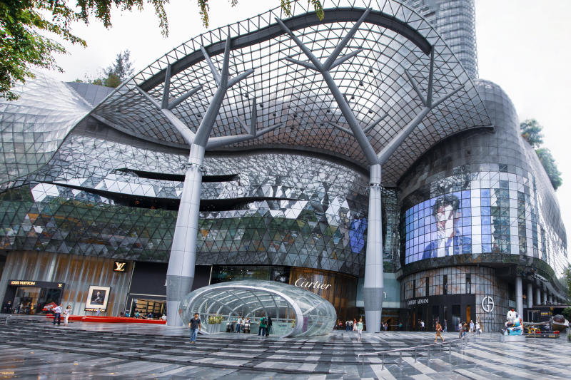 Singapore, May 12, 2017: Shops In Ion Orchard Singapore