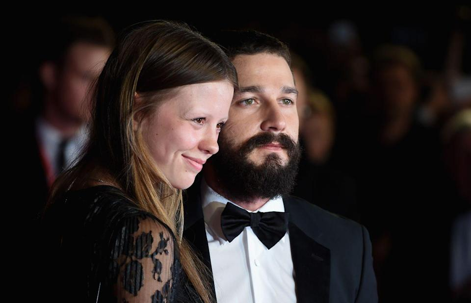 """<p><em>Nymphomaniac Vol. 1 </em>co-stars Shia Labeouf and Mia Goth split in 2018, but it seems COVID-19 has brought them back together. The actors have been <a href=""""https://www.refinery29.com/en-us/2020/03/9622790/shia-labeouf-mia-goth-back-together-photos"""" rel=""""nofollow noopener"""" target=""""_blank"""" data-ylk=""""slk:quarantined together in Pasadena"""" class=""""link rapid-noclick-resp"""">quarantined together in Pasadena</a> and spotted going to parks.</p>"""