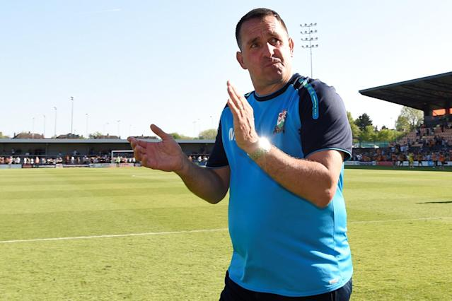 Martin Allen leaves Barnet following club's relegation from League Two