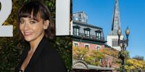 """<p><strong>Harvard University</strong></p><p>Jones majored in religion and philosophy at Harvard University. She <a href=""""http://www.vanityfair.com/hollywood/2015/12/rashida-jones-on-music-tv-writing"""" rel=""""nofollow noopener"""" target=""""_blank"""" data-ylk=""""slk:admits that she didn't rebel until college"""" class=""""link rapid-noclick-resp"""">admits that she didn't rebel until college</a>: """"I kind of lost my mind for a couple years and went to a lot of raves."""" Jones addressed the graduating class of 2016 at Harvard's Senior Class Day ceremony that year.<br></p>"""