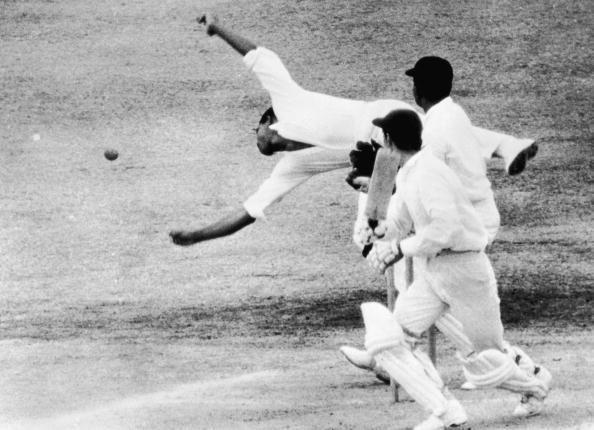 Sobers was an exceptional fielder. Sir Garfield Sobers was a complete player. Considered the greatest all-rounder of all time, his sharp, precise and eagle like reflexes at close-in positions made him a menacing fielder. His acrobatics in and around the bat, especially to Lance Gibbs' off breaks was a treat for the fans. Before the Pontings and Jayawardenes of the day, it was Sobers who could sense the movement of the batsmen and hold on to catches many would not even term as half-chances.Succeeding the immensely successful Worrell, Sobers was appointed captain in 1965. It was at this time that the West Indian team started to build on a legacy that would be remembered for a lifetime. In his career spanning two decades, Sobers had a wonderful record of 121 catches, many of which were caught at silly point and short leg. It is, therefore, no surprise that Sobers, being a complete player, was the best paid professional in the 1960s, earning 5000 pounds a season in England.