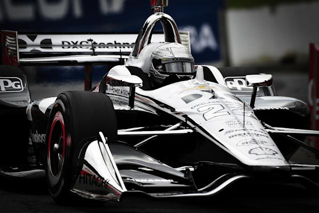 Pagenaud on pole in Toronto as rivals falter