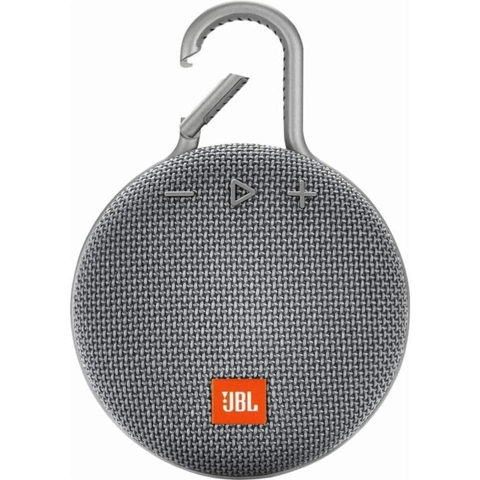 "<p><strong>JBL</strong></p><p>amazon.com</p><p><strong>$44.95</strong></p><p><a href=""https://www.amazon.com/dp/B07Q4R6KR9?tag=syn-yahoo-20&ascsubtag=%5Bartid%7C10055.g.27116208%5Bsrc%7Cyahoo-us"" rel=""nofollow noopener"" target=""_blank"" data-ylk=""slk:Shop Now"" class=""link rapid-noclick-resp"">Shop Now</a></p><p>No matter if his next big adventure is in the backyard or on the trails, he can clip this bluetooth speaker to his backpack or belt buckle to jam out to his favorite tunes. It's also waterproof, so he doesn't have to worry about rain or snow. </p>"