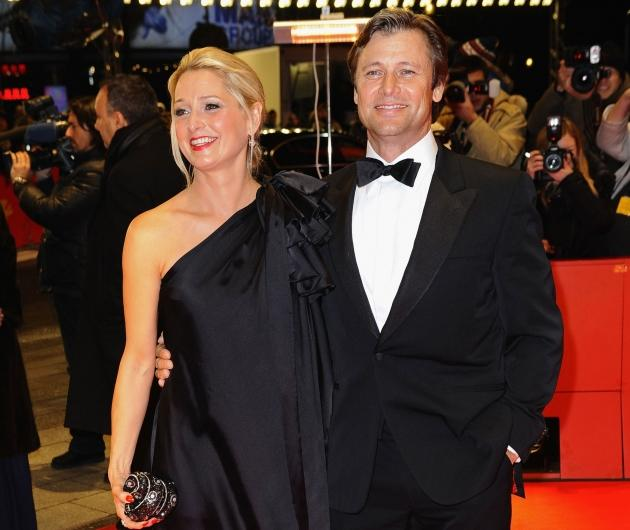 Katherine LaNasa and Grant Show attend the 'Jayne Mansfield's Car' Premiere during day five of the 62nd Berlin International Film Festival in Berlin on February 13, 2012 -- Getty Premium