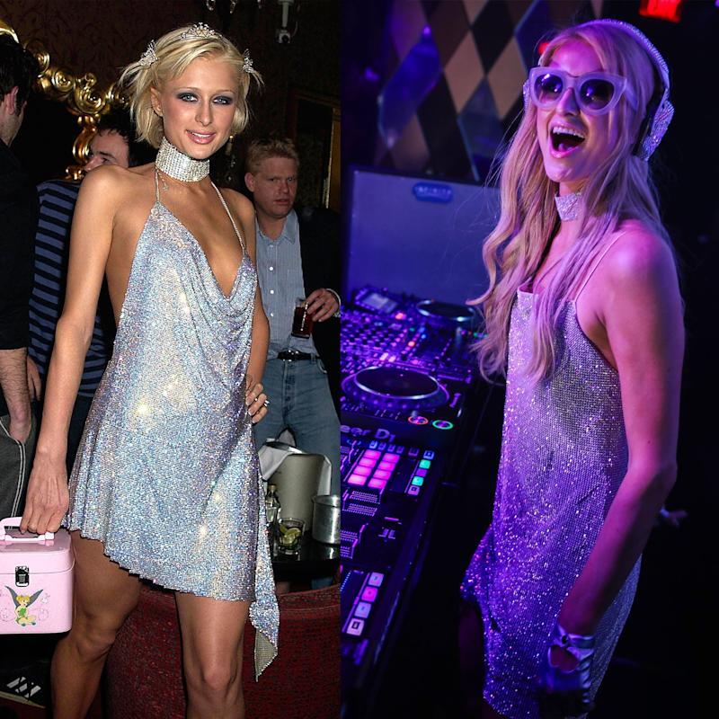 Paris Hilton Just Re Purposed Her Famous 21st Birthday Party Dress