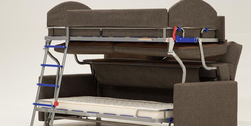 Brilliant This Sofa Transforms Into A Bunk Bed And You Wont Be Able Short Links Chair Design For Home Short Linksinfo