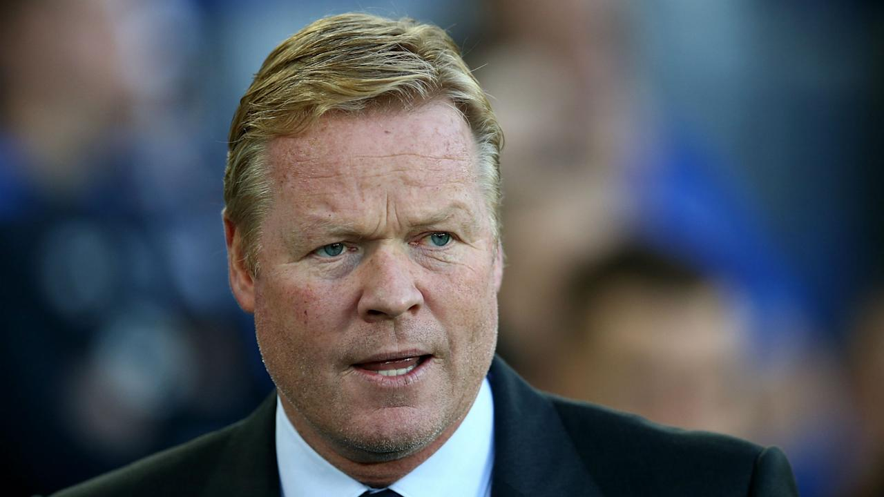 The United boss' assertion that Everton were under-performing was not well received by Koeman, who asked for time for his signings to settle