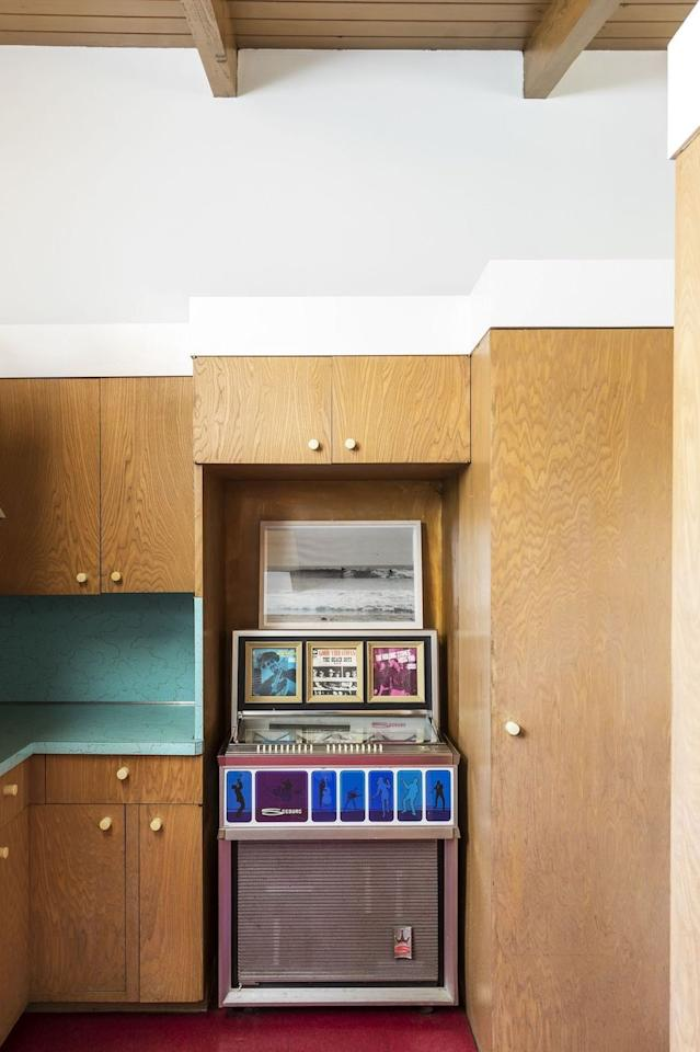 """<p>You <em>can </em>include a nod to the past without going too theme-y, as Leanne Ford proves in this recreational space. The key? Keep the space simple and choose one standout item that complements the room's color scheme so the design feels intentional, not chaotic. </p><p><strong>See more at <a href=""""https://leanneford.com"""" target=""""_blank"""">Leanne Ford</a>. </strong></p>"""