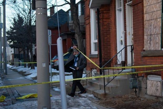 Det.-Sgt. Jim Callender with Hamilton Police Service told media on Thursday officers found the body of a buried baby.