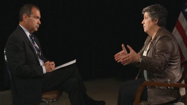 Napolitano on Immigration: Border Is Secure So 'Fix the Entire System'