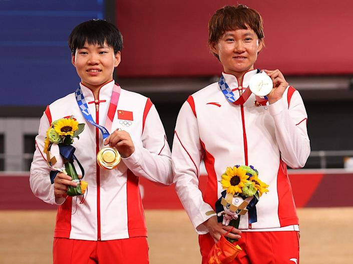 Chinese medalists