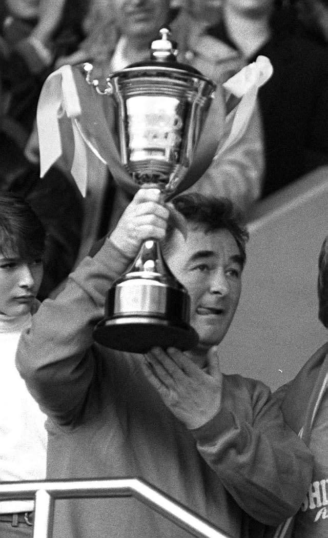 Clough won trophies with Derby and Nottingham Forest (PA)