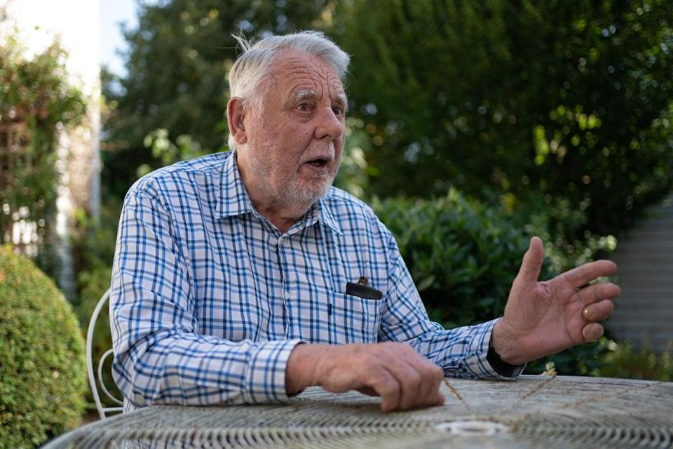 Terry Waite, 82, who was held hostage in Lebanon from 1987 to 1991 (Joe Giddens/ PA) (PA Wire)