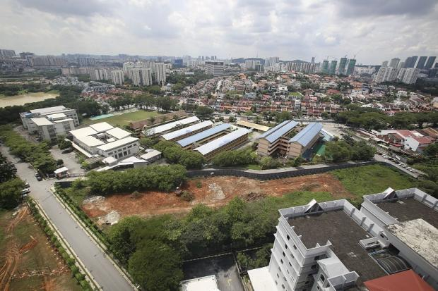 A view of the project site as seen on November 11, 2017. — Picture by Yusof Mat Isa