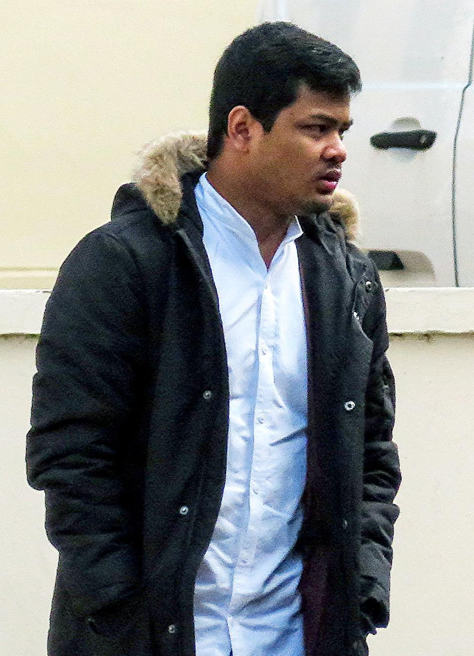 Vannak Rowe forced himself on his victim after she repeatedly refused to have sex with him at her home (swns)