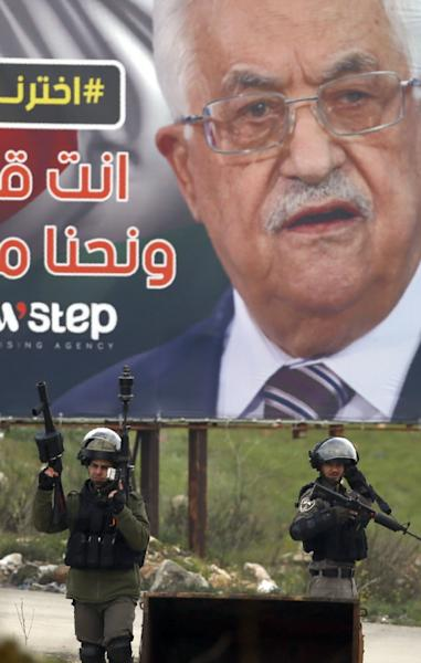 The Palestinian Authority led by president Mahmud Abbas has only limited autonomy in West Bank towns and cities, and the economy remains dependent on Israel (AFP Photo/ABBAS MOMANI)