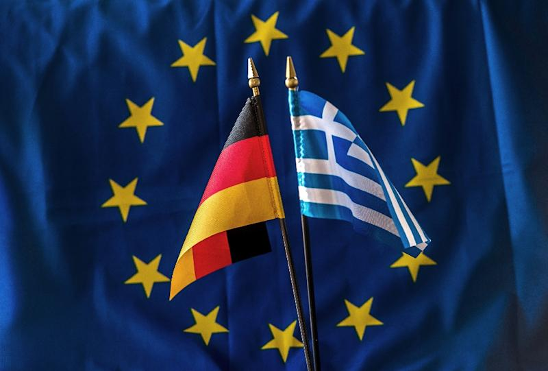 The four-month reprieve for Greece won overwhelming backing in Germany's lower house of parliament (AFP Photo/Philippe Huguen)